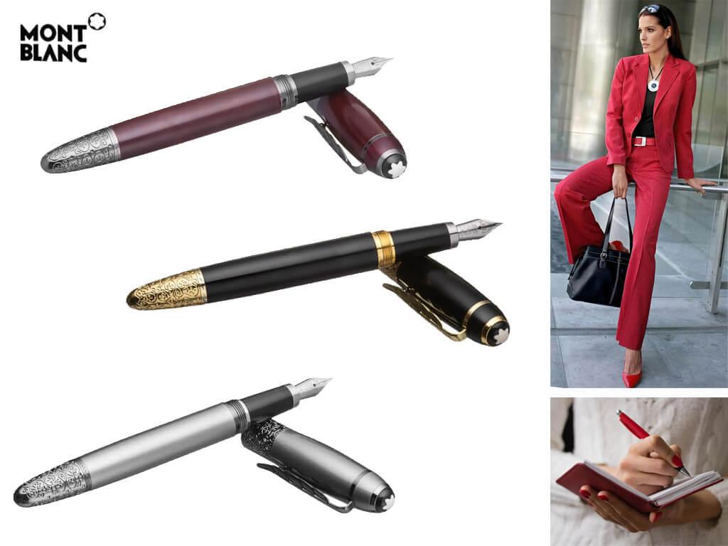 Женские перьевые ручки Monblanc
