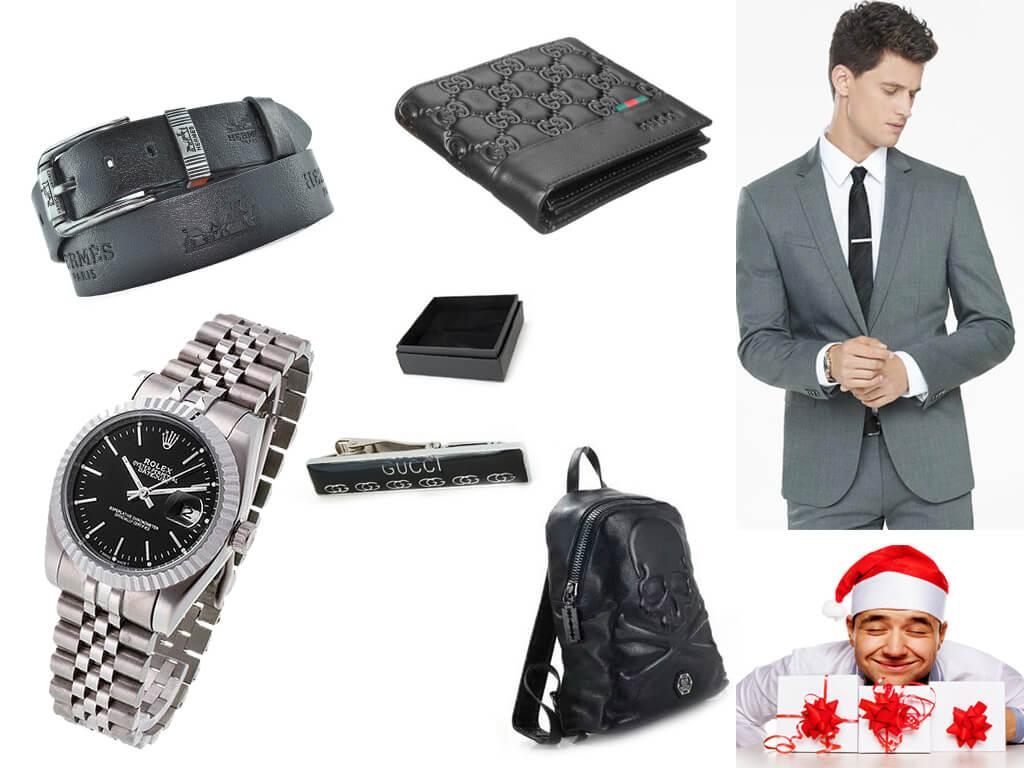 Подарки на Новый год любимым мужчинам
