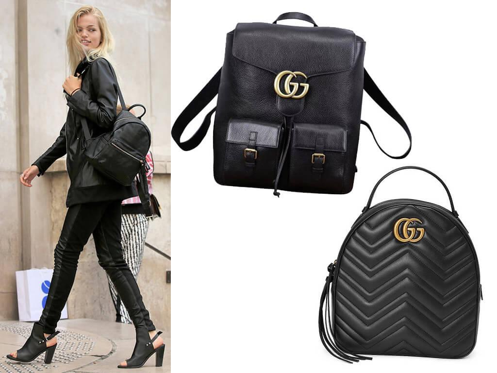 Кожаные рюкзаки - стильное дополнение молодежного образа