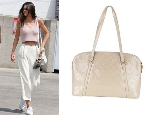 Сумка Louis Vuitton женская белого цвета