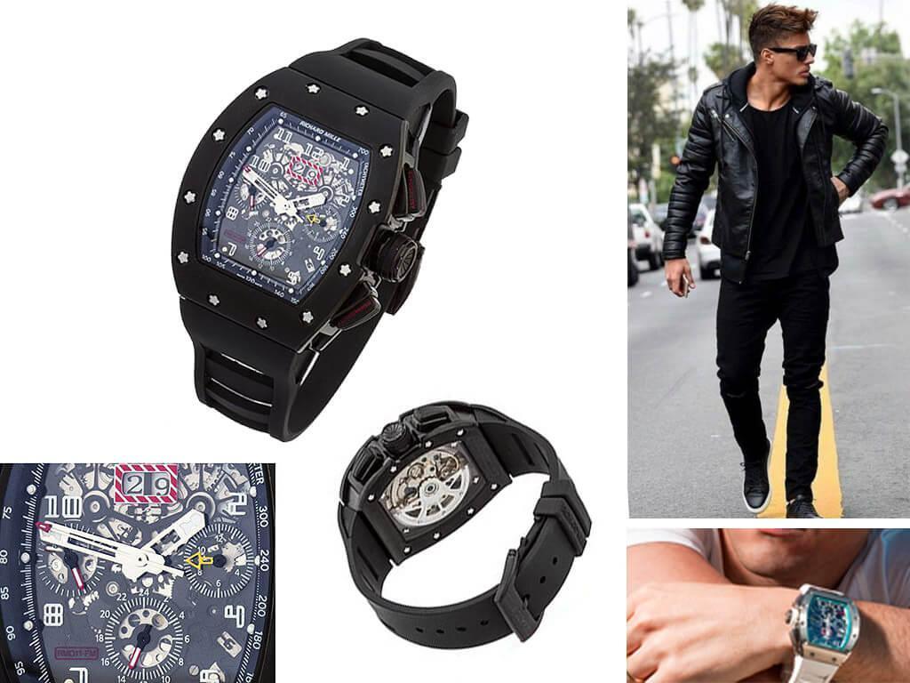 Мужские часы Richard Mille RM 011 Felipe Massa