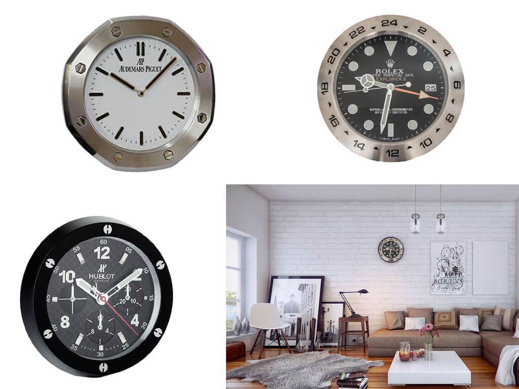 Настенные часы с японским механизмом