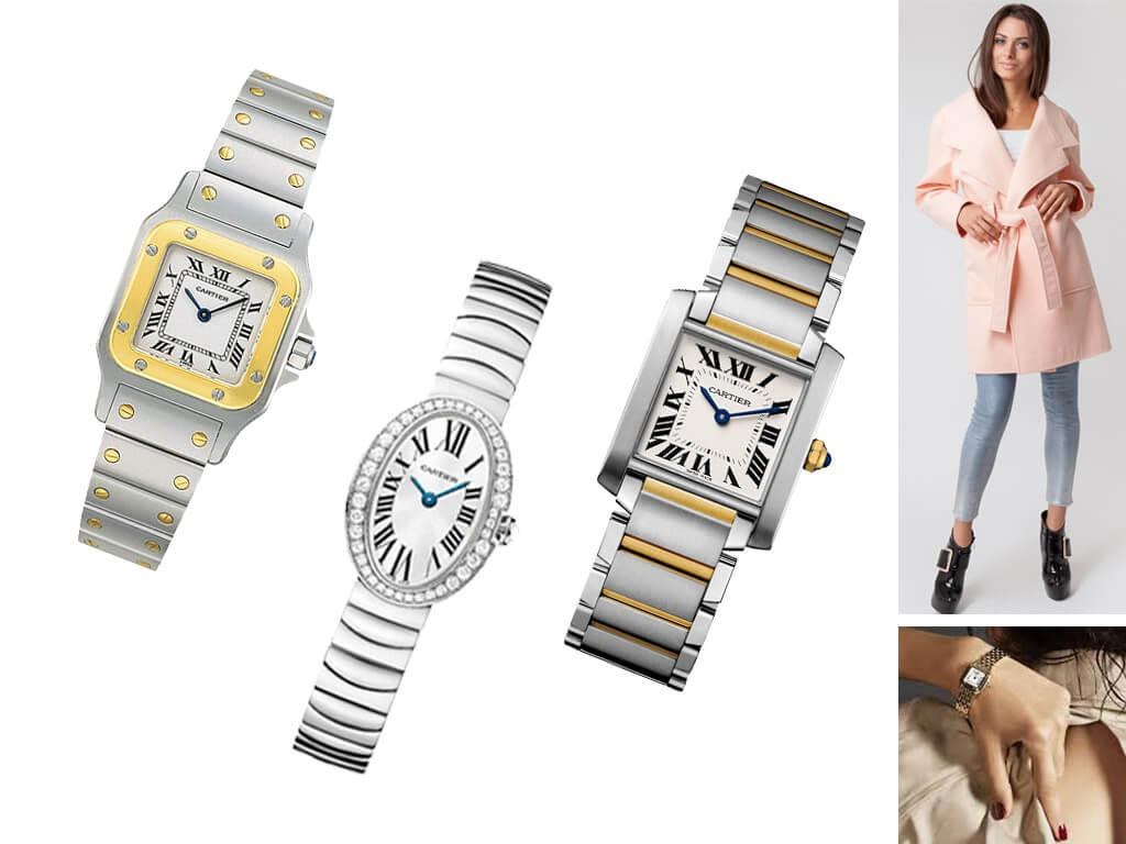 Женские часы Cartier оригинал