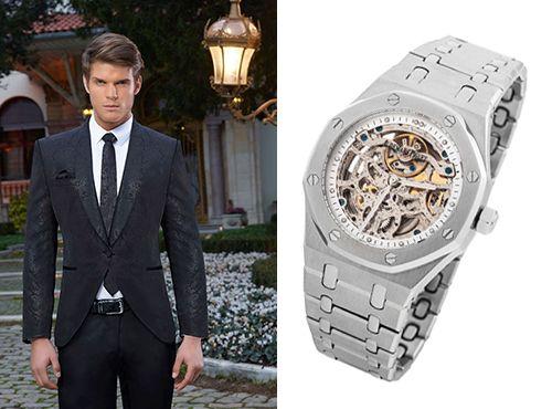Мужская копия часов Роял Ок от Адемар Пиге стальной браслет