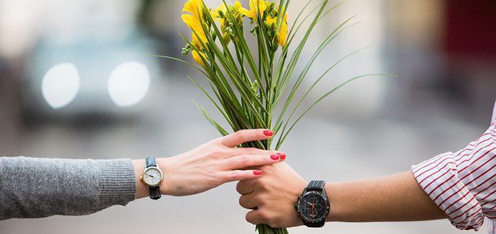 Наручные часы на день Валентина по выгодной цене со скидкой 14%