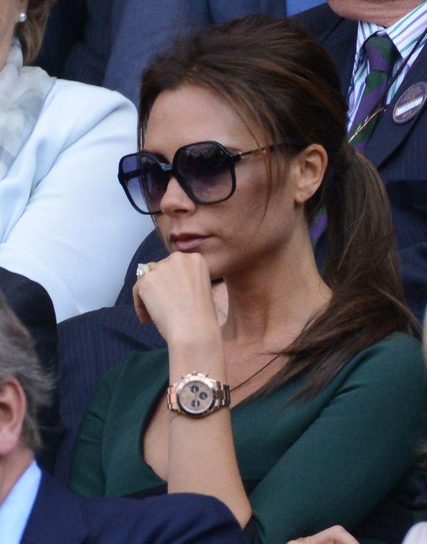 Виктория Бэкхем в часах Rolex Daytona Cosmograph