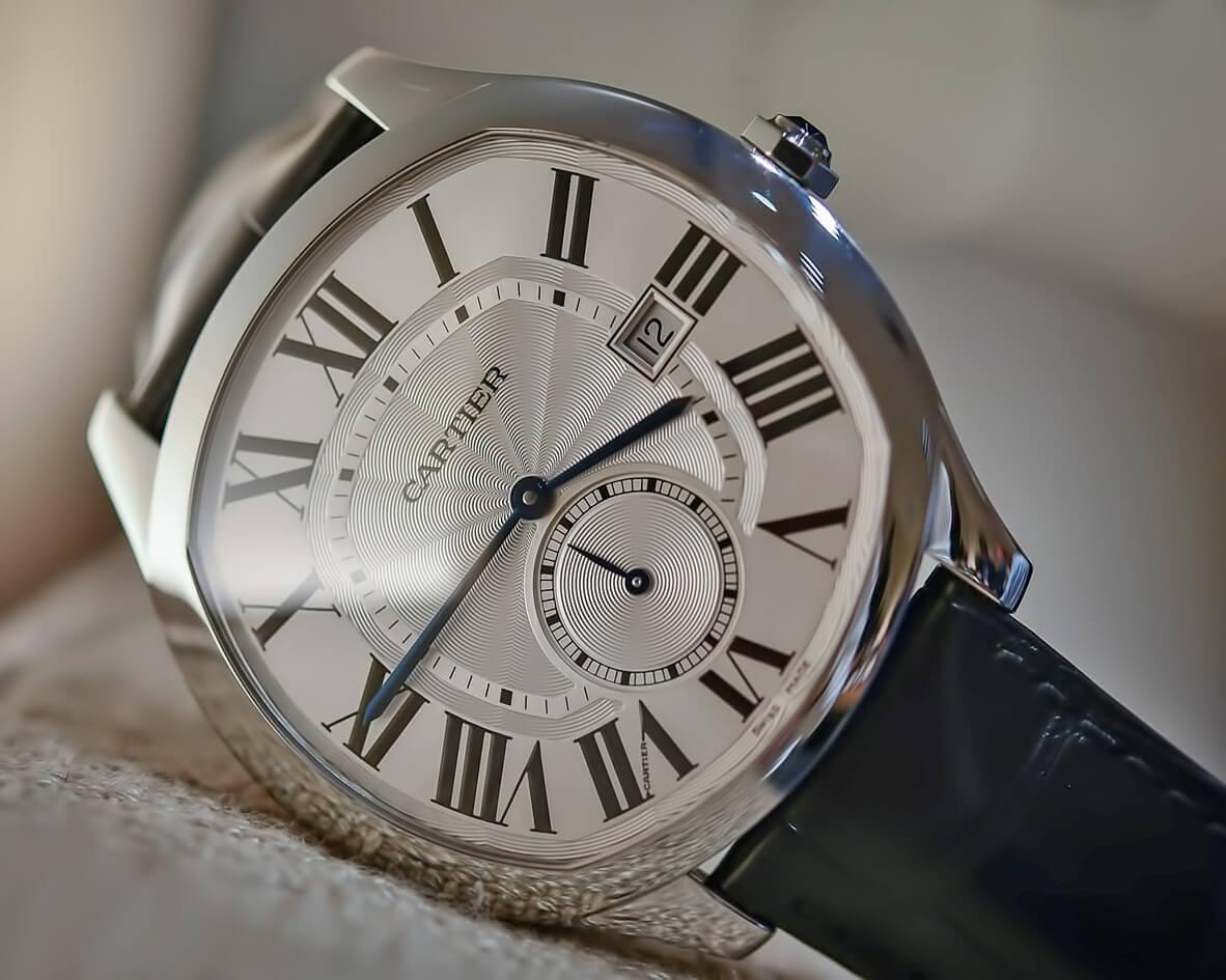 Мужские часы Drive de Cartier с автоматическим заводом