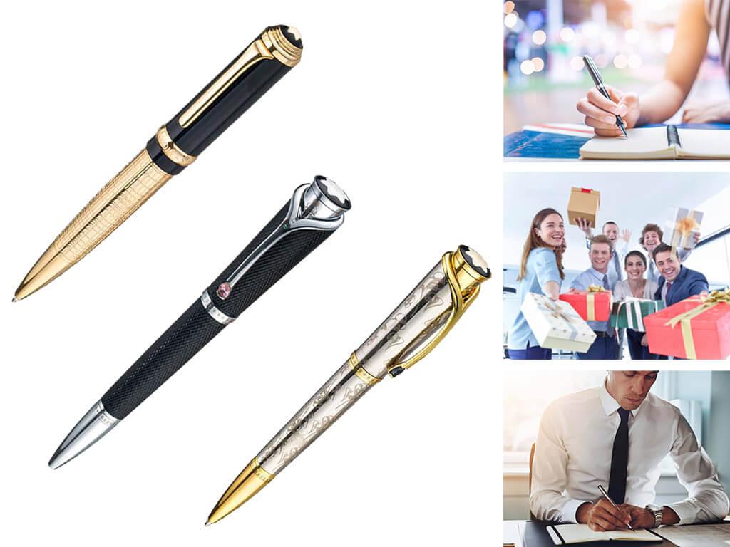 Брендовые ручки на подарок коллегам
