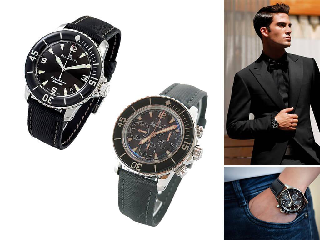 Мужские часы Blancpain Fifty Fathoms