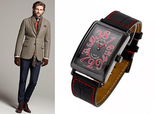 Мужская копия часов Franck Muller Crazy Hours