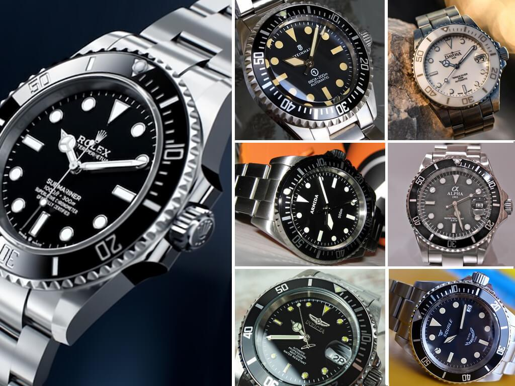Rolex Submariner и самые удачные хомажи