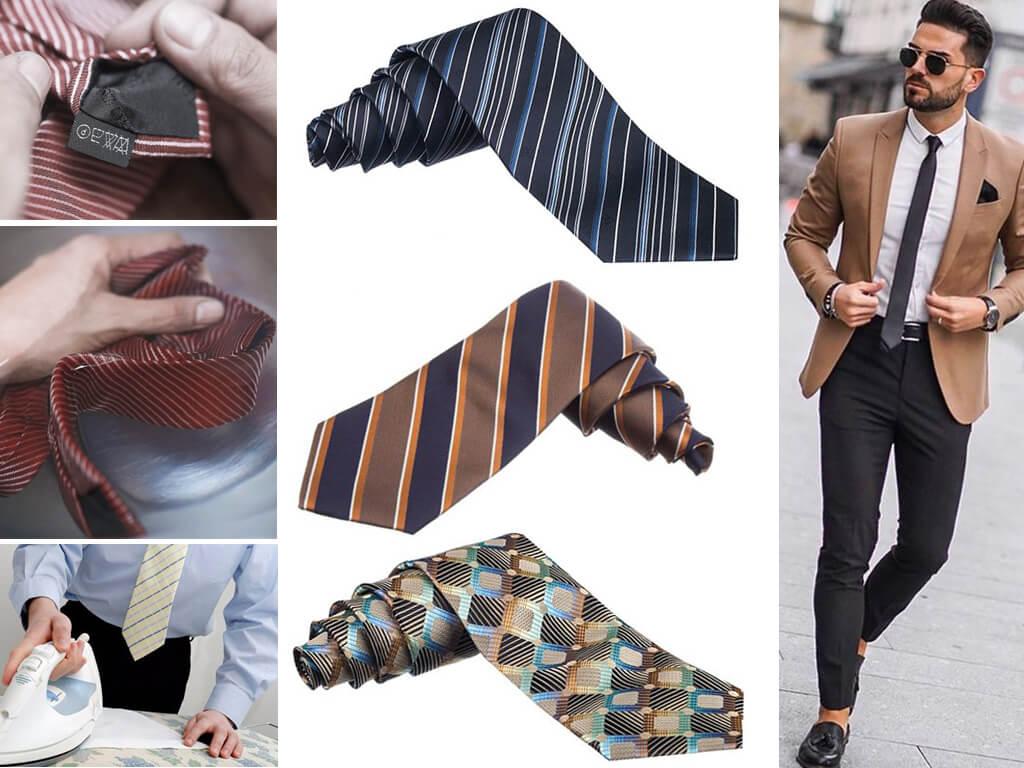 Уход за галстуками