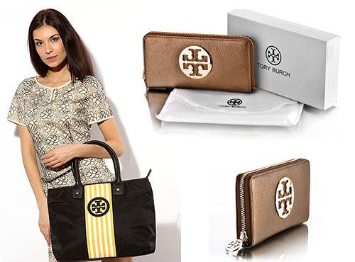 Женский кожаный кошелек коричневого цвета