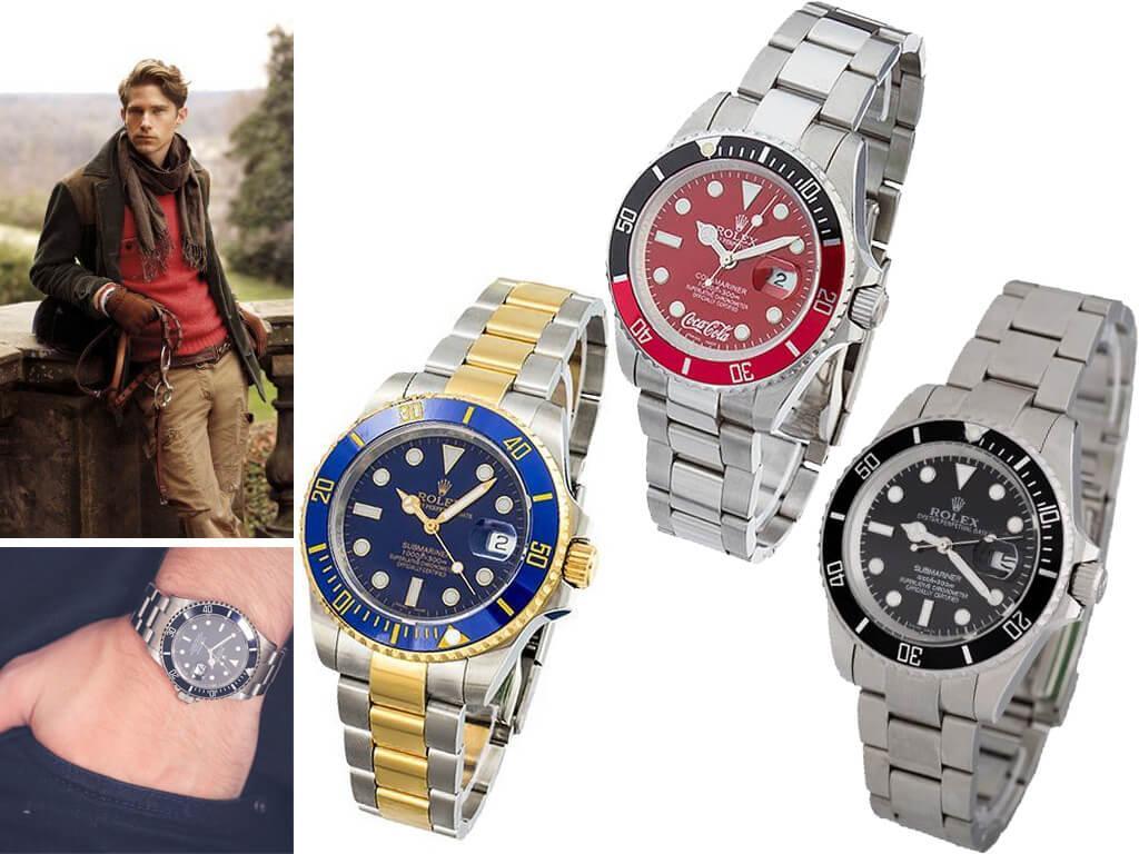 Часы мужские Rolex из коллекции Submariner