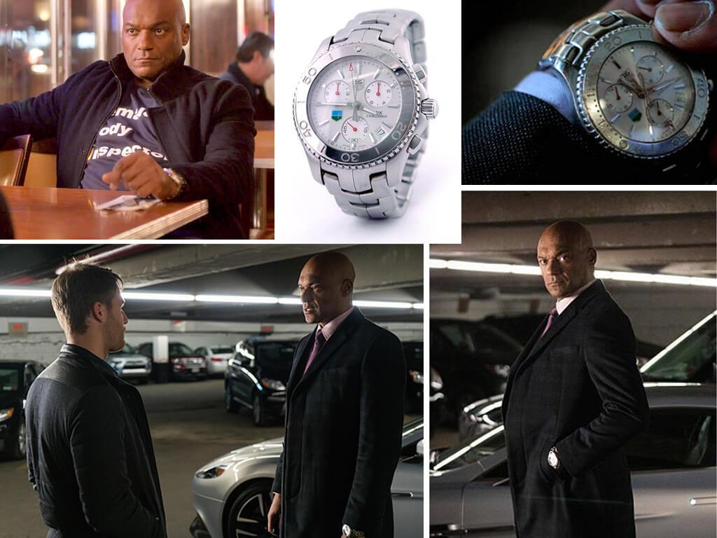 Области тьмы (2015-2016): часы Джареда Сенса (Колина Салмона) Tag Heuer Link Challenge CJ1113