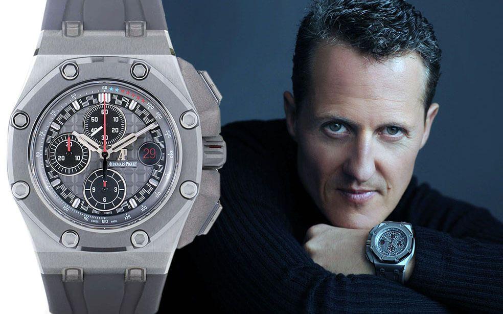 Часы Михаэля Шумахера Audemars Piguet Royal Oak Offshore Michael Schumacher