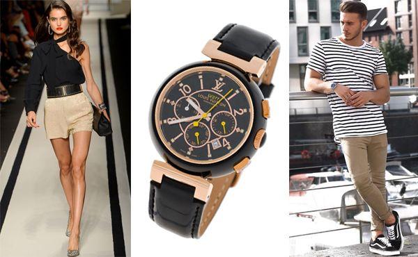 Часы унисекс от Louis Vuitton