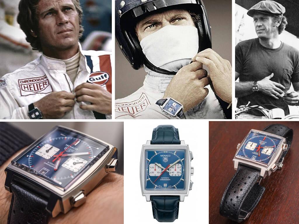 Часы Стива МакКуина Heuer Monaco Ref. 1133B