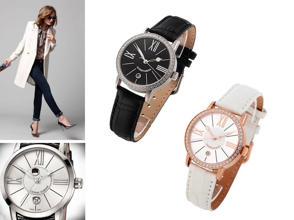 Женские часы Ulysse Nardin Classico Lady Luna из коллекции Classic