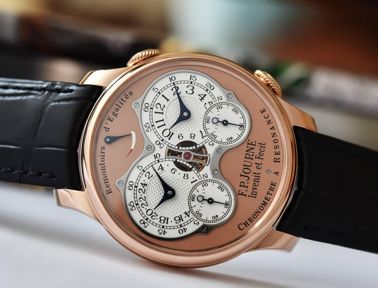 Часы F.P. Journe серии Chronomètre à Resonance «Souscription»