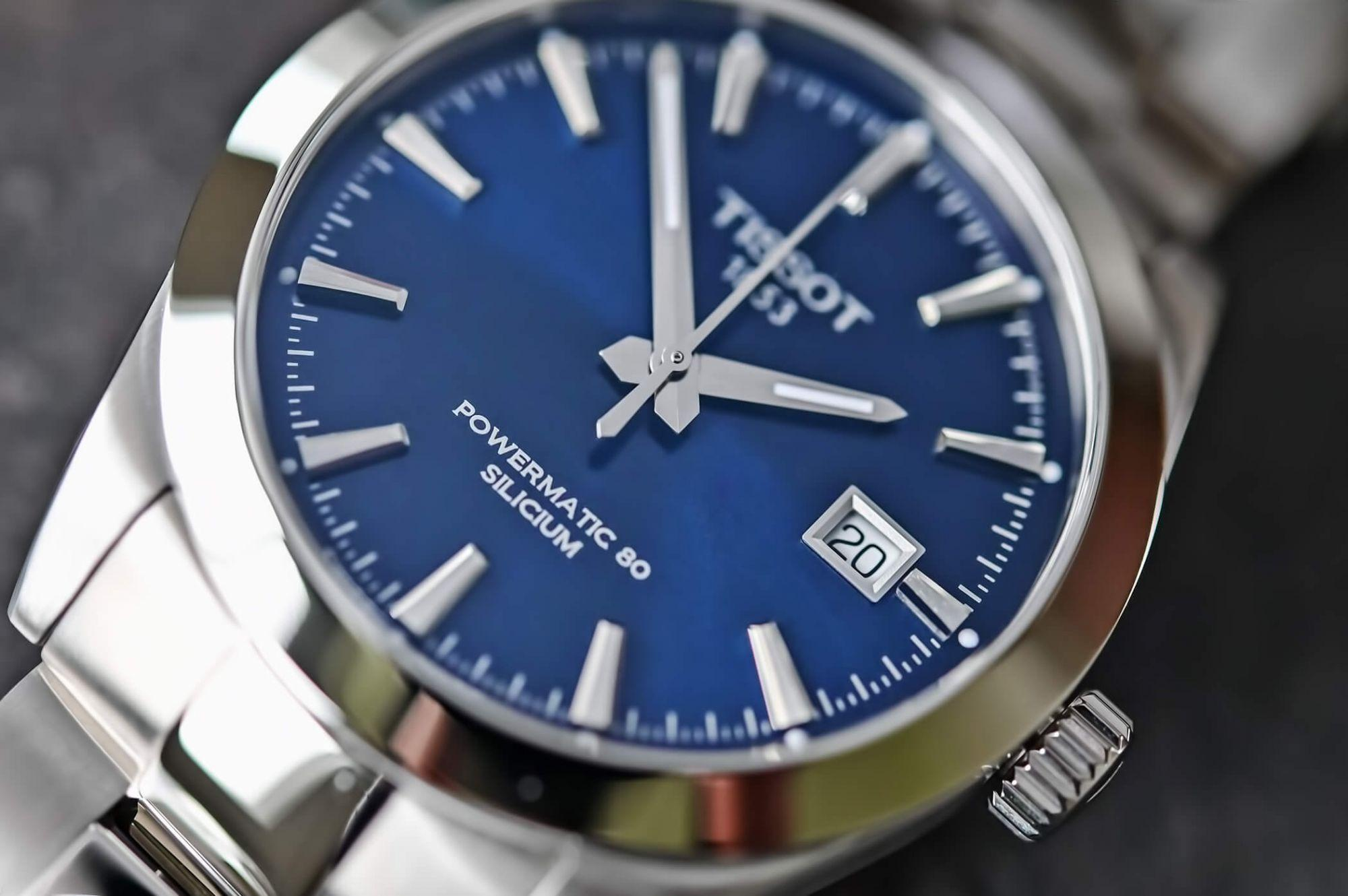 Наручные часы Tissot Gentleman Powermatic 80 Silicium