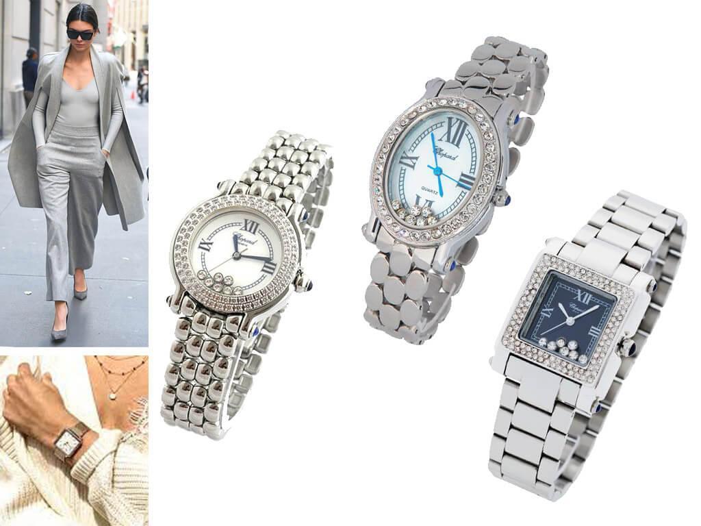 Часы Chopard с металлическим ремешком
