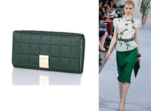 Женский кожаный кошелек от Chanel