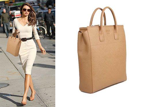 Кожаная сумка от Прада женская