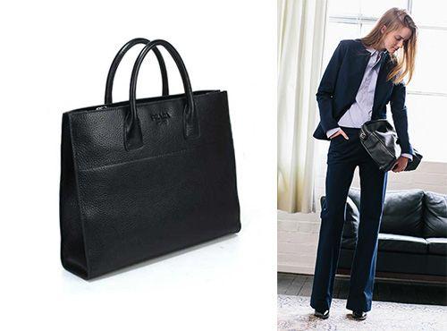 Женская кожаная сумка от Prada