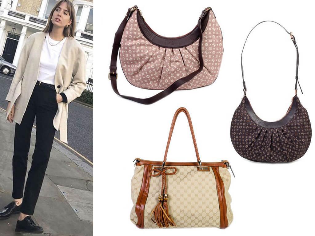 Женские сумки текстильные на молнии