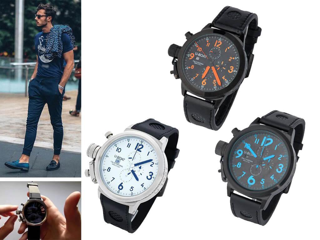 Часы мужские У-Боат Итало Фонтана