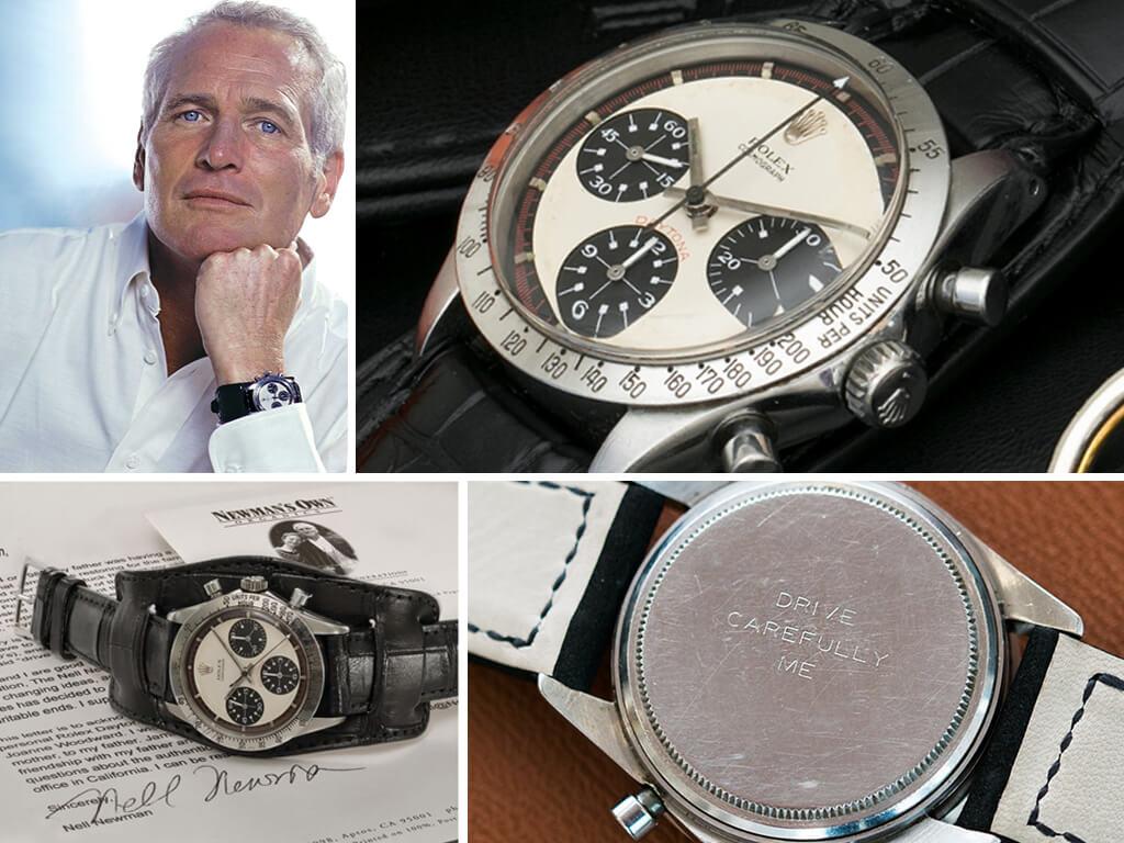 Часы Пола Ньюмана Rolex Cosmograph Daytona «Big Red» Ref. 6263