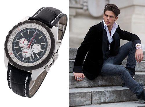 Мужские часы Breitling в стальном корпусе