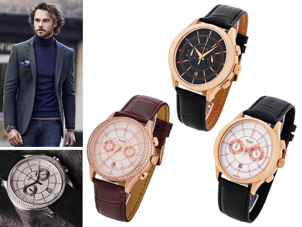 Мужские часы Piaget из коллекции Gouverneur