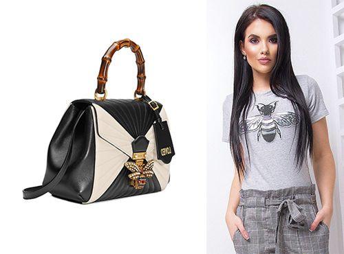 Кожаная женская сумка от Gucci