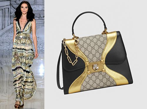 Женская сумка из кожи от Гуччи