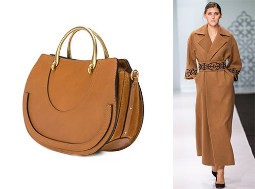 Женская сумка Chloe из комбинированного материала