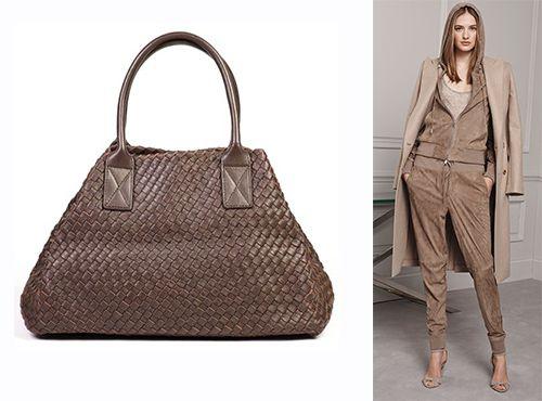 Кожаная женская сумка от Bottega Veneta