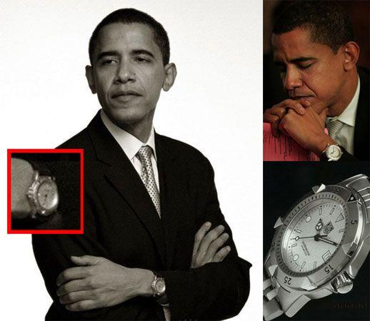 Часы Tag Heuer Барака Обамы