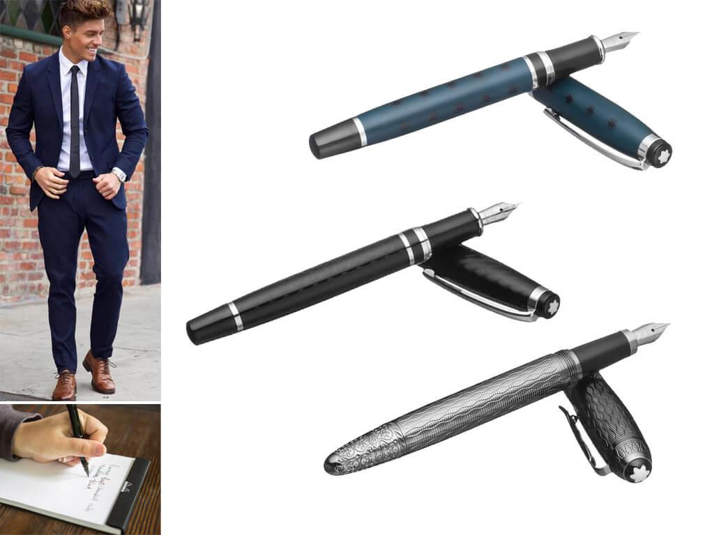Мужские брендовые перьевые ручки