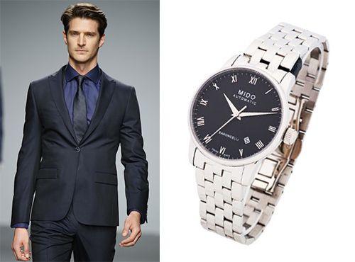 Мужские классические часы Мидо