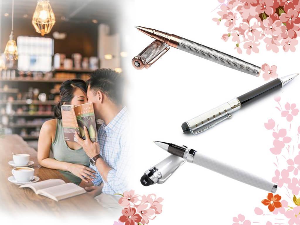 Брендовая ручка - прекрасный подарок тем очаровательным дамам, чья профессиональная деятельность связана с подписанием документов
