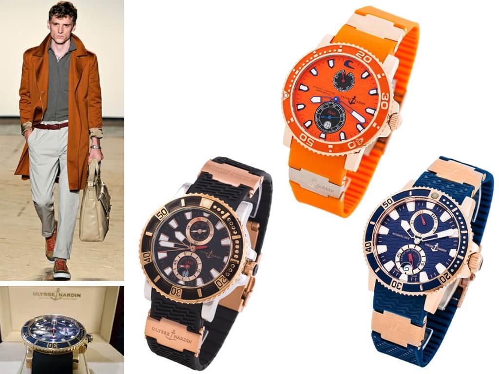 Наручные часы мужские Ulysse Nardin Maxi Marine Diver из коллекции Diver