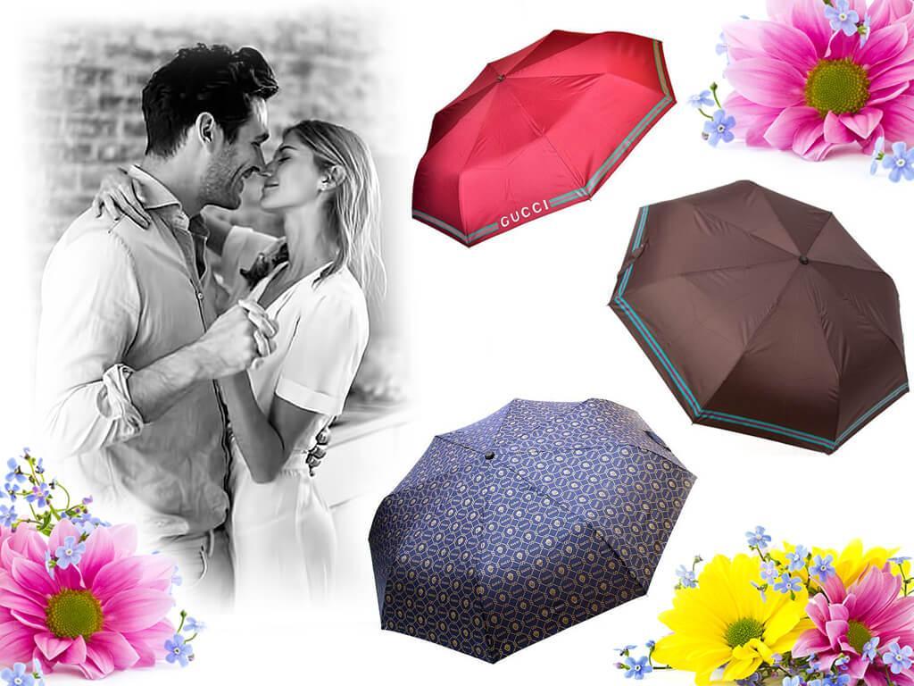 Подаренный на 8 Марта брендовый зонт символизирует заботу и внимание