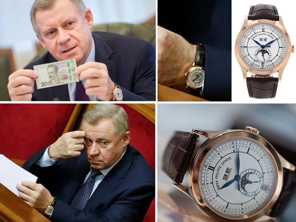 Часы Якова Смолия Patek Philippe Complications Annual Calendar 5396R-011