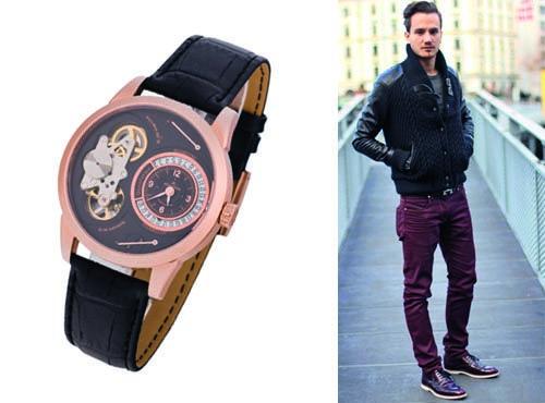 Часы мужские от Jaeger-LeCoultre со стеклом из сапфира