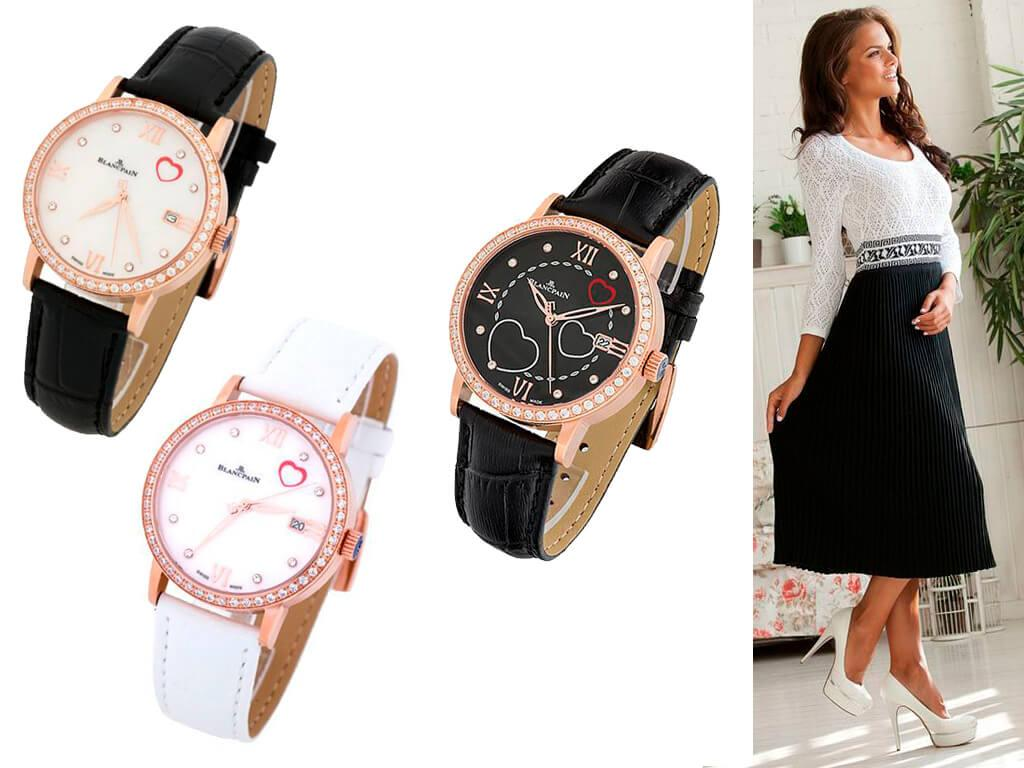 Женские часы из коллекции Saint-Valentin бренда Blancpain