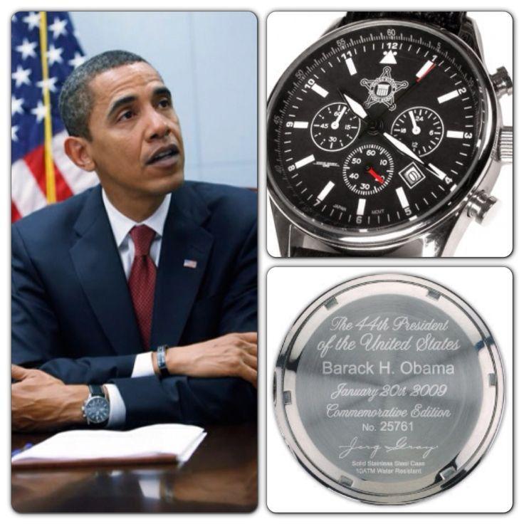 Часы Jorg Gray 6500 Барака Обамы