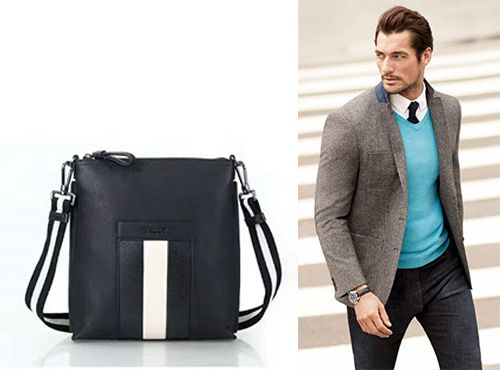 Bally сумка мужская коллекции Baumas
