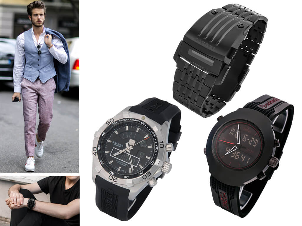 Мужские электронные часы